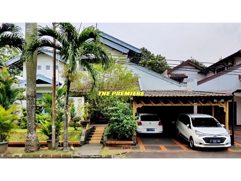Rumah Besar Siap Huni Bintaro Village, Bintaro, Tangerang Selatan